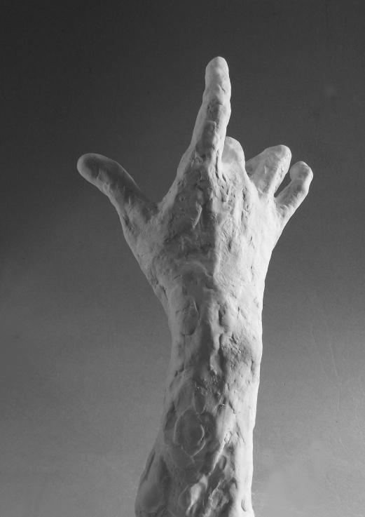 Edith Lafay  sculpture main droite 1