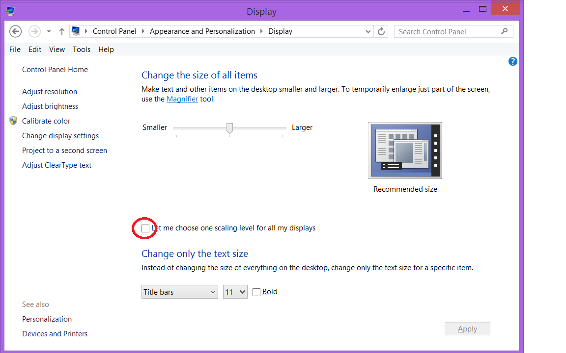How to Fix Windows 8 1 Fuzzy / Blurry text in Chrome | My
