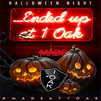 1 OAK LA Halloween 2016 Tickets