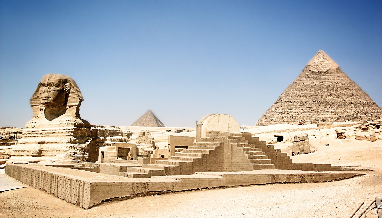 Image result for Great Pyramid of Giza (Honorary Candidate) - Completed c. 2560 BC