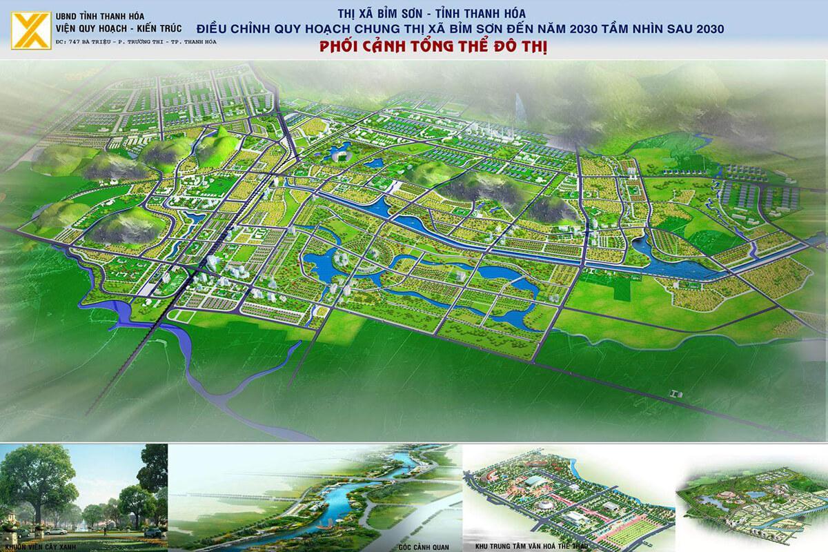 Phối cảnh Bỉm Sơn Thanh Hóa
