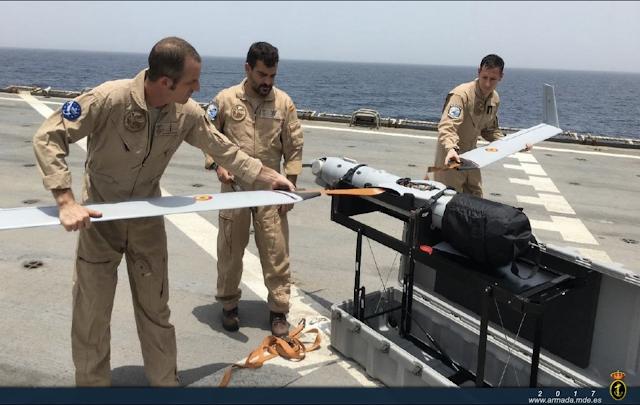 """La 11ª escuadrilla de la Armada finaliza su participación en """"Atalanta"""" y desplegará en Irak"""