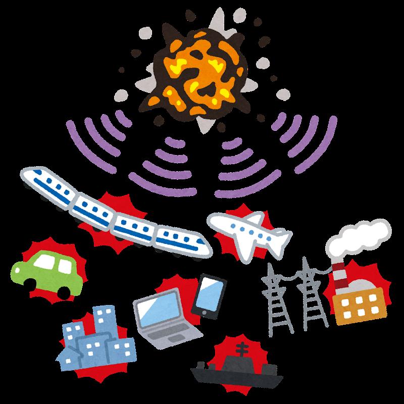 電磁パルス攻撃のイラスト かわいいフリー素材集 いらすとや