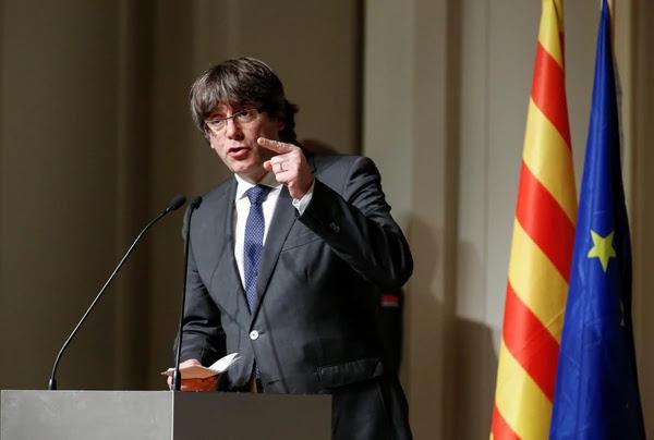 Desde Bélgica, Carles Puigdemont convocó a una manifestación independentista este sábado en Barcelona