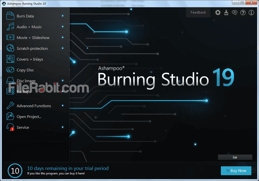 Ashampoo Burning Studio Screenshot 1