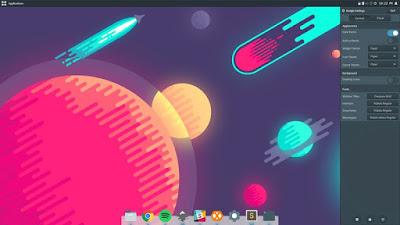 Paper Screenshot in Budgie Desktop Linux