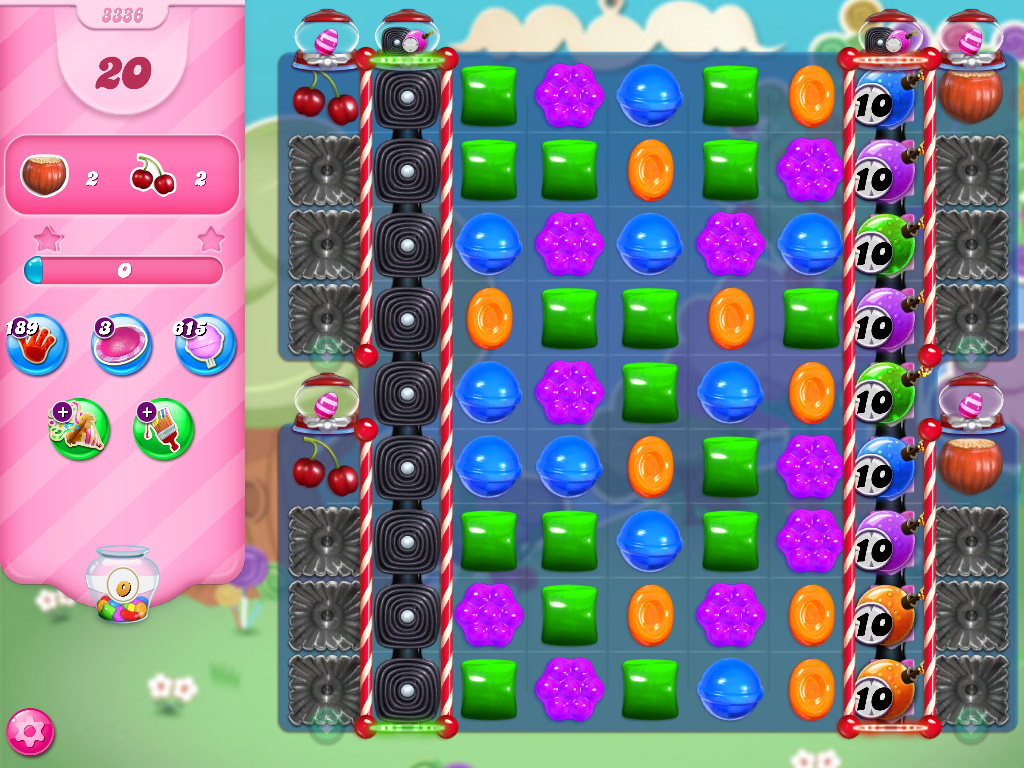 Candy Crush Saga level 3336