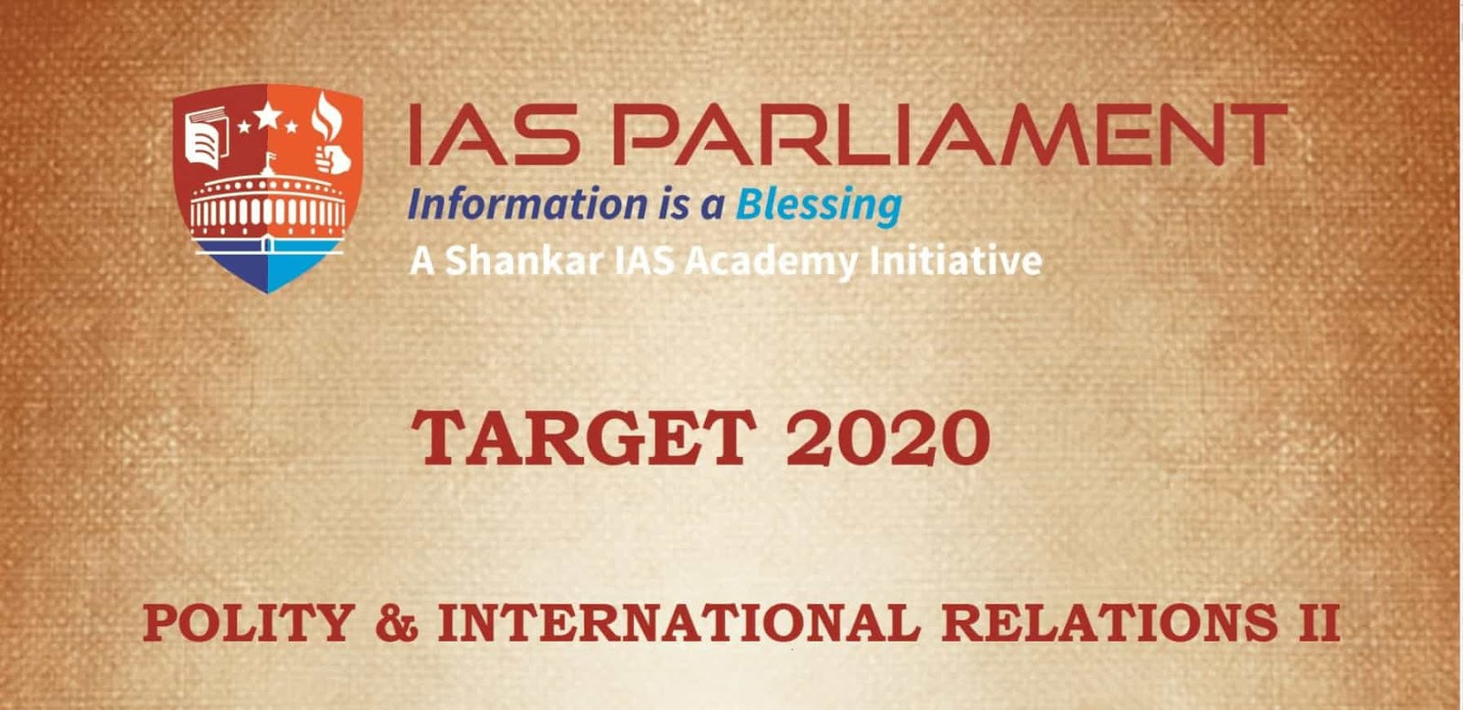 Target 2020 Polity & International Relations pdf