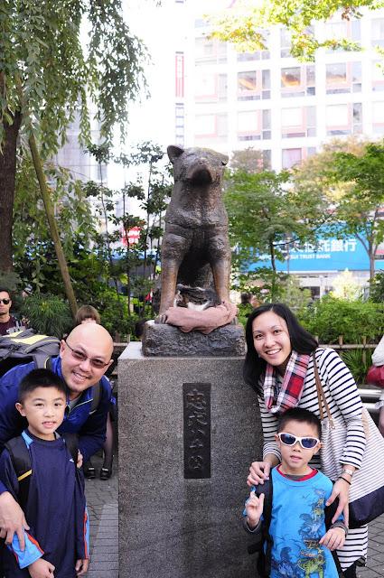 Tokyo Travel: Hachiko statue