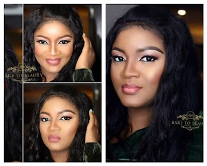 Omotola Ekeinde Stuns in new makeup photos