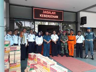 Kirim Bantuan Ke Banten, Kantor Kesyahbandaran Tanjung Priok Ajak Masyarakat Terlibat Membantu Korban Bencana