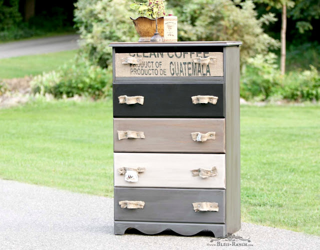trash to treasure dresser makeover