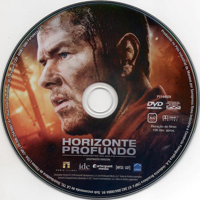 Label DVD Horizonte Profundo