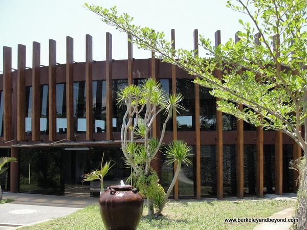 museum building at Taman Nusa Indonesian cultural park in Bali