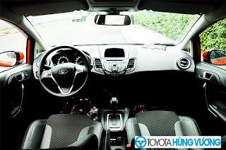 So sánh Toyota Vios với Ford Fiesta 11