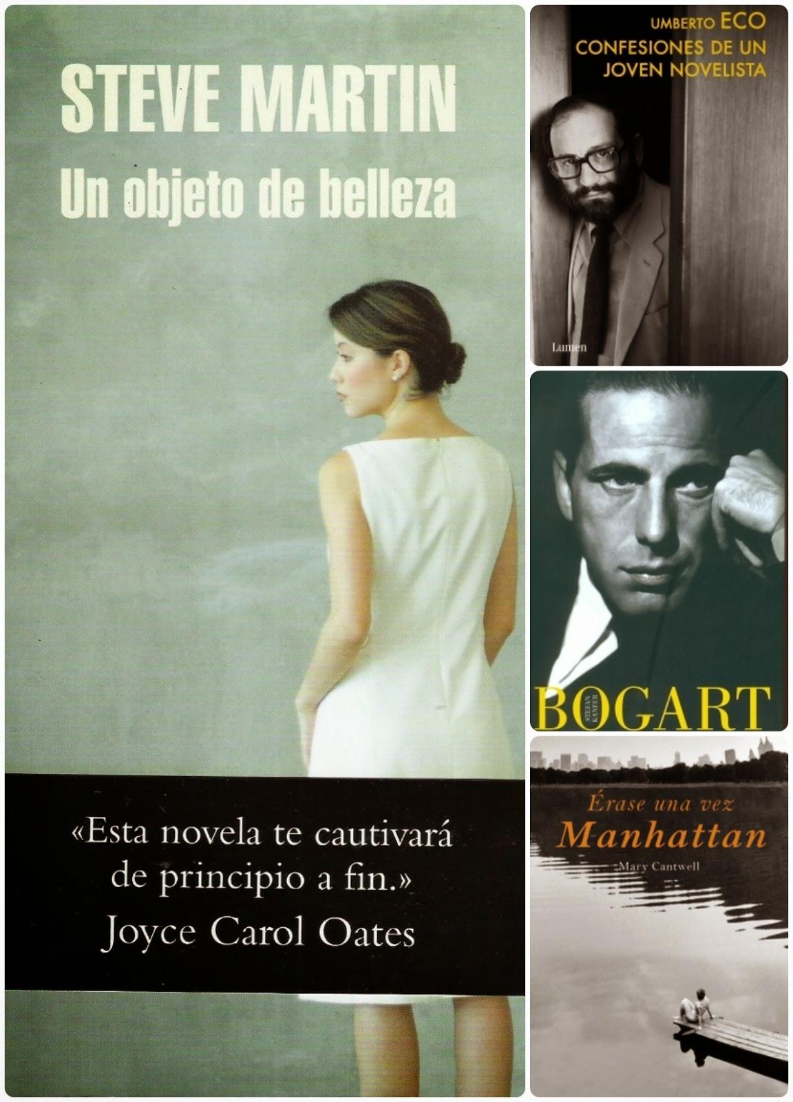 #LibrosRecomendados :Steve Martin, Umberto Eco, un toque de Manhattan y Bogart