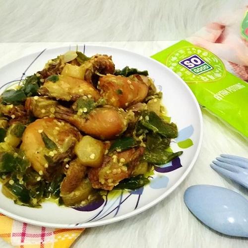 Ayam Goreng So Good Sambal Hijau Belimbing