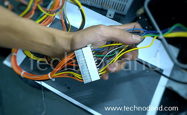 Modifikasi Power Suply PC 24 pin menjadi 14 Pin