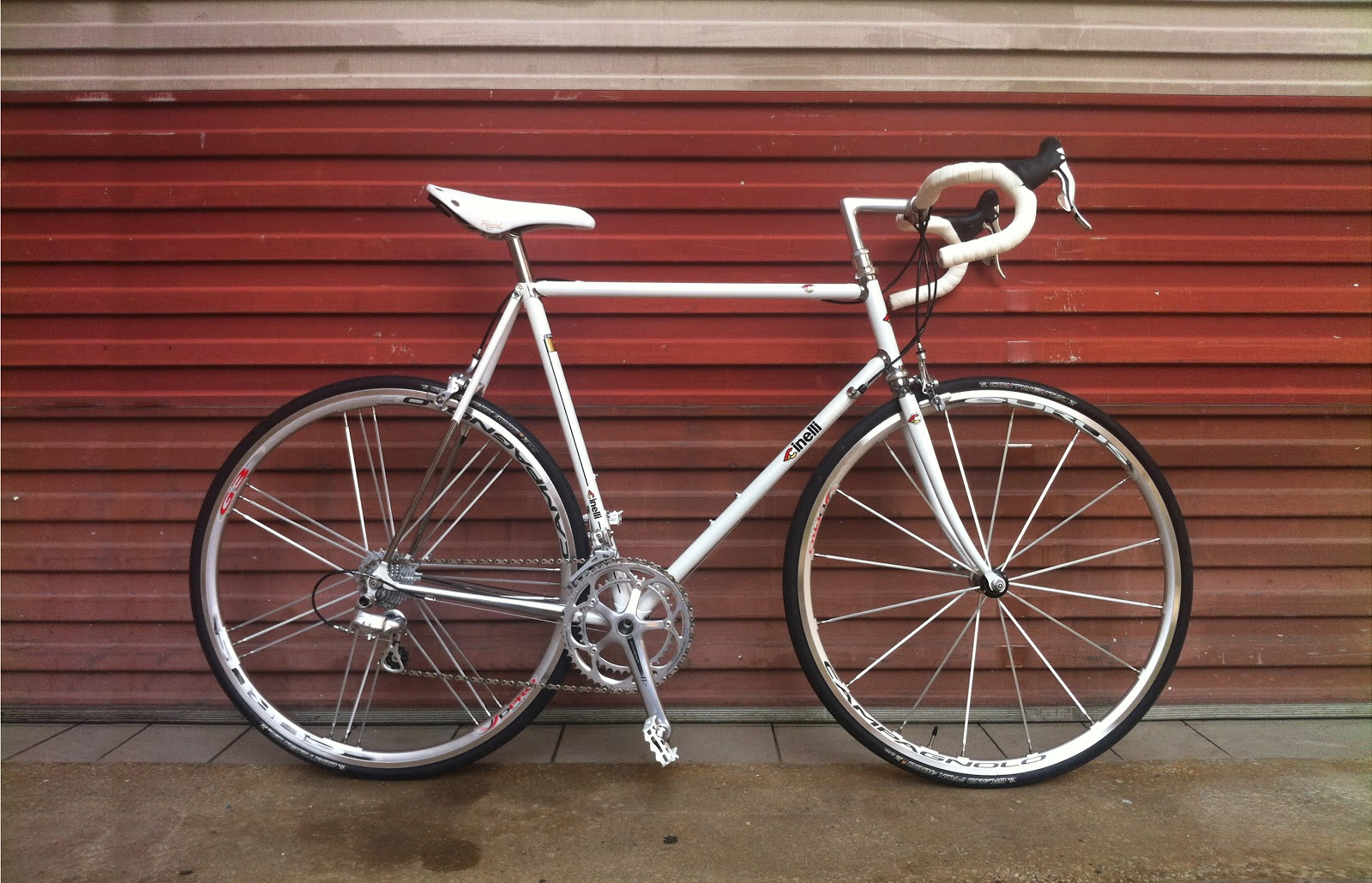 Cinelli Only: 2012 Super Corsa, and Serial Numbers