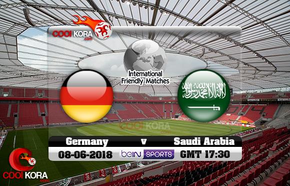 مشاهدة مباراة ألمانيا والسعودية اليوم 8-6-2018 مباراة ودية