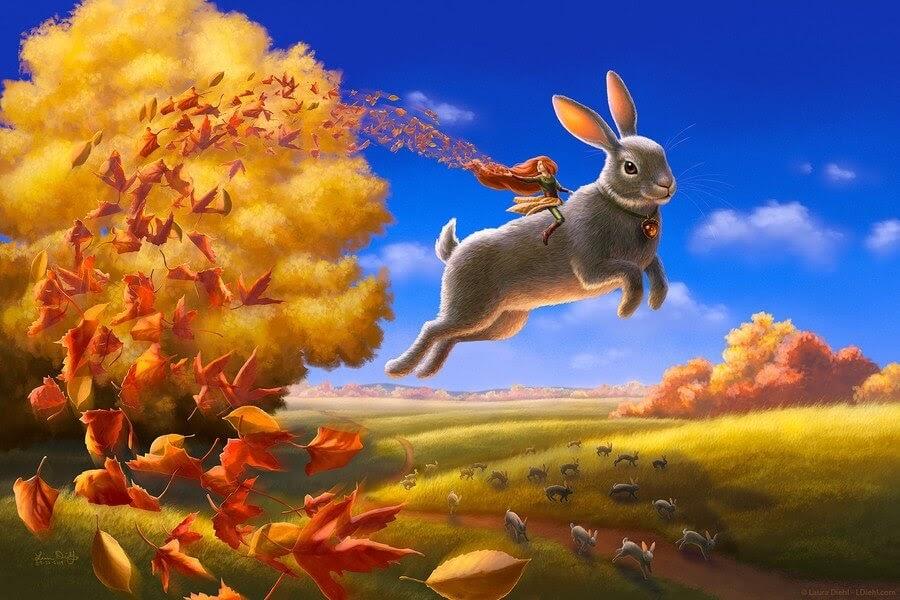 10-Autumn-Leap-Laura-Diehl-Fantasy-www-designstack-co
