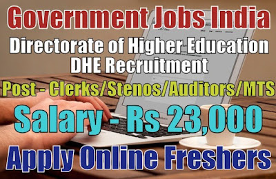 DHE Recruitment 2019