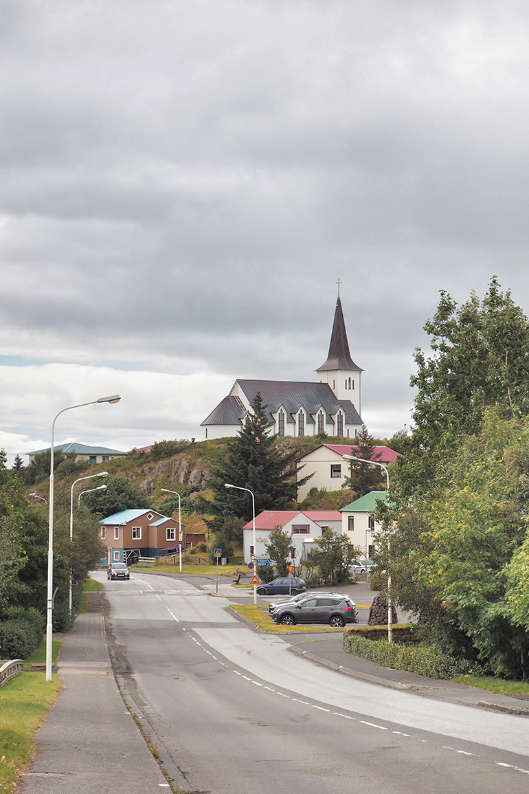 Séjour en Islande - ville de Borgarnes