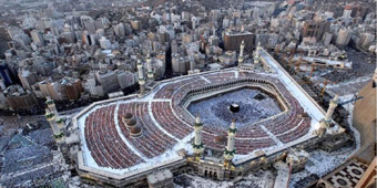 Masjidil Haram, Arab, Arab Saudi, Pesawat, Dilarang Melintas, Hal Unik Makkah