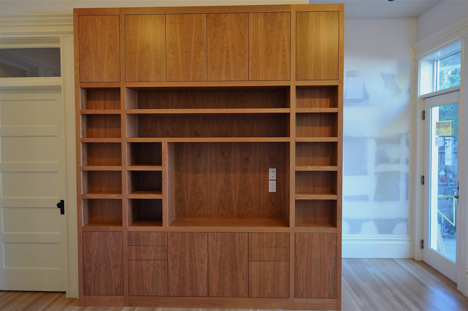 New home designs latest.: Modern homes wall cabinets ...
