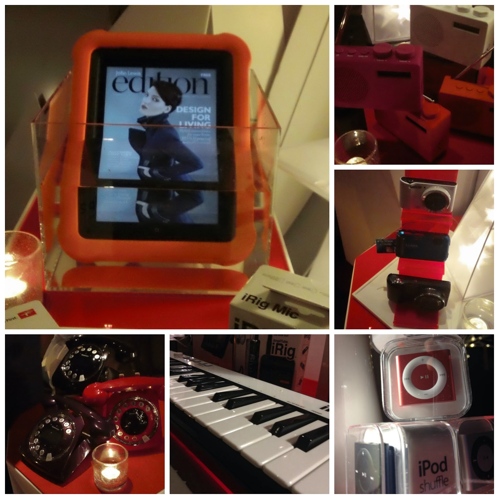 Waterproof Apple iPad Case, John Lewis Press Event, John Lewis Christmas, Kuku Club, Park Plaza Hotel Cardiff