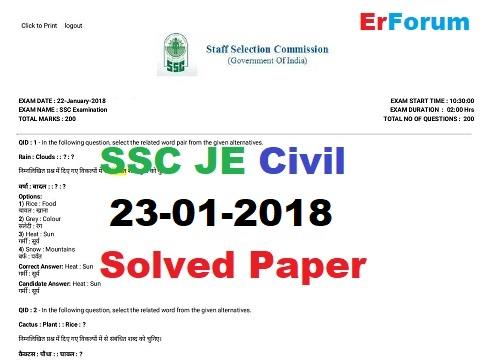ssc-je-ce-2018-solved-paper