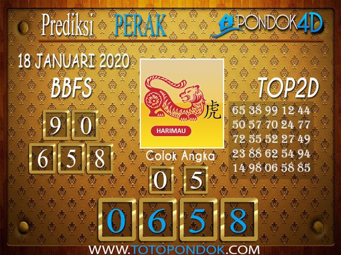 Prediksi Togel PERAK PONDOK4D 18 JANUARI 2020