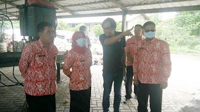 Pemkot Mojokerto Bakal Adopsi Pengelolaan Sampah TPST Taman