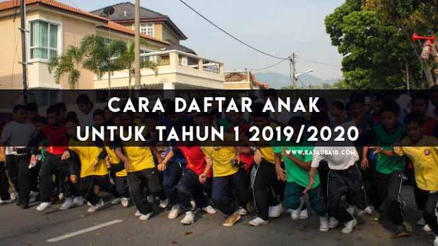 Daftar Anak Untuk Tahun 1 2019/2020
