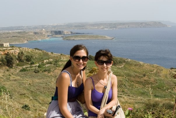 Two friends in Malta