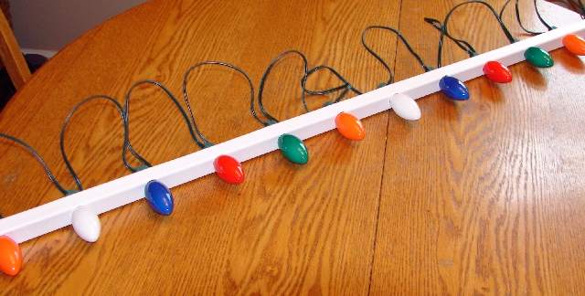 Hanging Christmas Lights Rustic Amp Refined