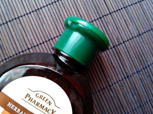 Green Pharmacy - Szampon do włosów normalnych i przetłuszczających się - Nagietek lekarski, zamknięcie opakowania