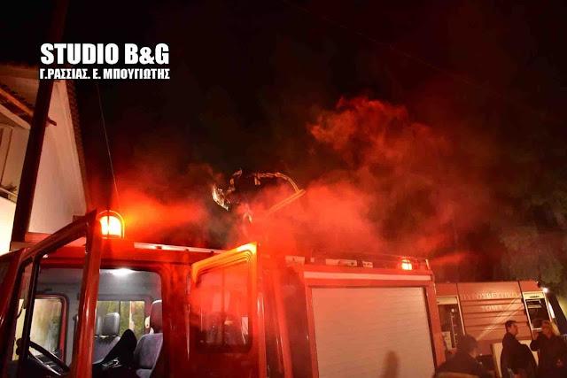 Πυρκαγιά σε σπίτι στην Παλαιά Επίδαυρο