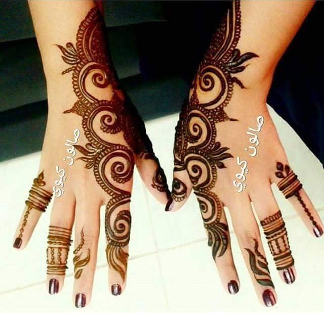 Mehndi Designs New Models : Stylish latest henna designs l arabic mehndi