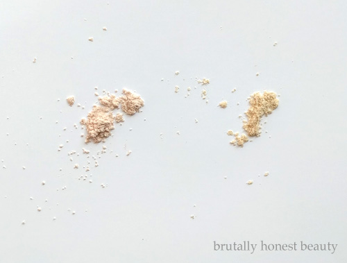 No7 Perfect Light Loose Powder and Laura Mercier Translucent Loose Setting Powder in Translucent