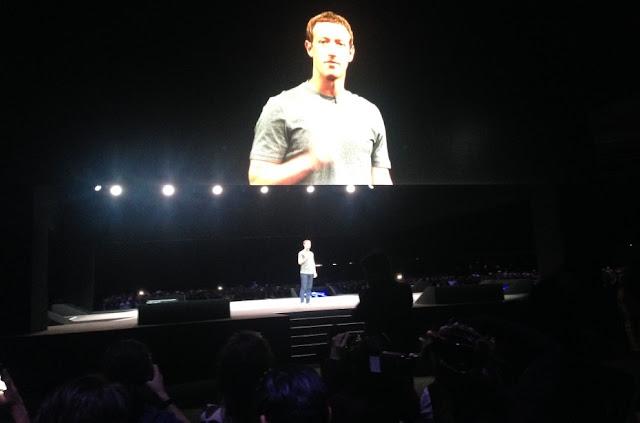 Zuckerberg aparece no evento da Samsung para falar do VR