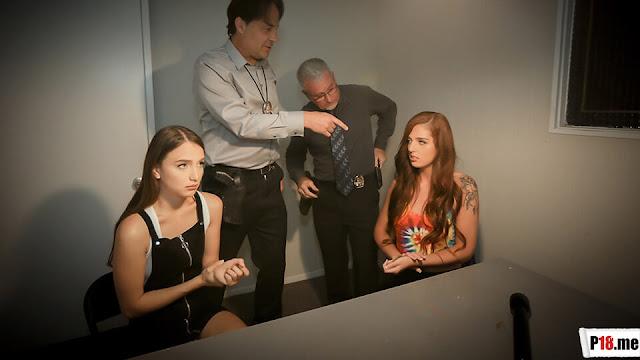 Free Streaming & Download DaughterSwap - Scarlett Mae & Izzy Lush - Interrogation Penetration Part 1 XXX Porn Videos
