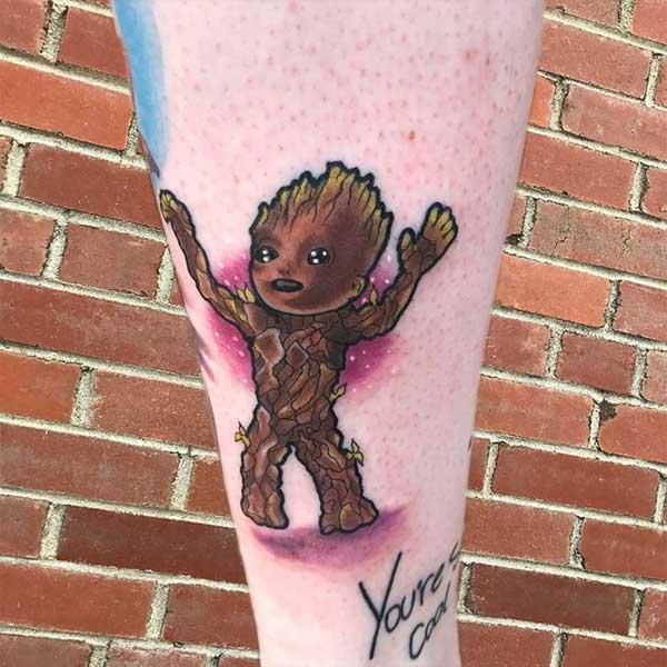 tatuagens do Groot