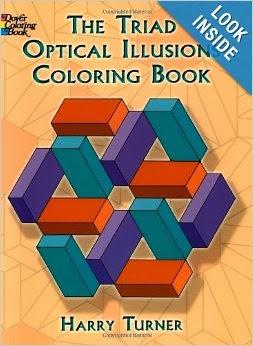 The Triad Optical Illusions Coloring Book (Dover Design ...