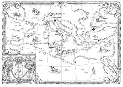 Il giorno della civetta (mappa)