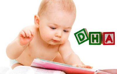 DHA hỗ trợ phát triển não bổ của trẻ