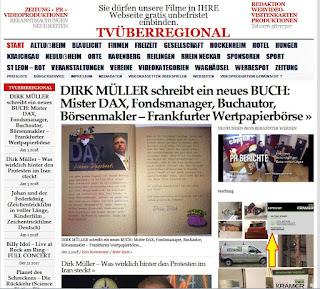 DIRK MÜLLER schreibt ein neues BUCH: Mister DAX, Fondsmanager, Buchautor, Börsenmakler – Frankfurter Wertpapierbörse  http://tvueberregional.de/dirk-mueller-mister-dax-fondsmanager-buchautor-boersenmakler-frankfurter-wertpapierboerse/