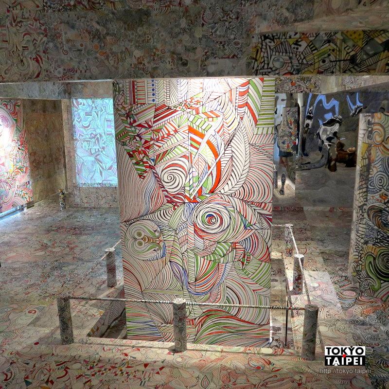 【宇宙華‧舞‧環】抽象線條色彩填滿整座房子 像花朵在太空中跳舞