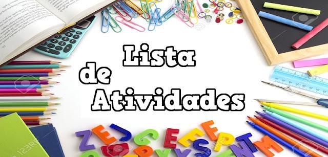 Lista de Português com 194 Atividades