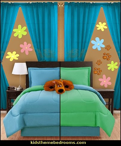 Girls Wallpaper Mural Decorating Theme Bedrooms Maries Manor Scooby Doo Theme